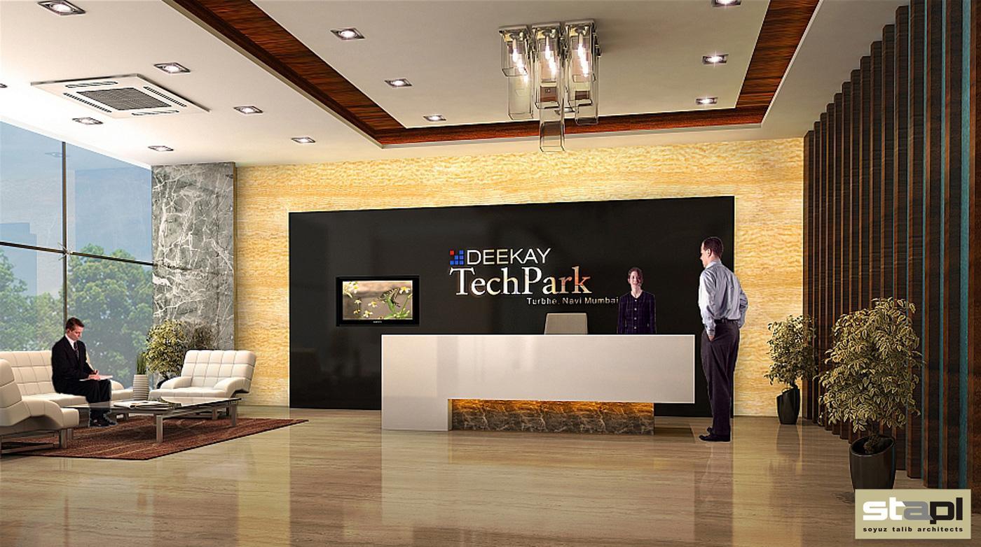 Deekay Techpark Lobby Soyuz Talib Architects